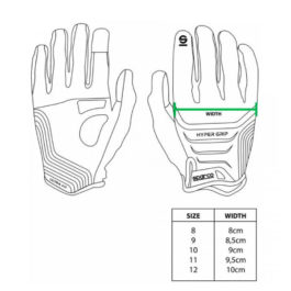 Guantes Sparco Hypergrip