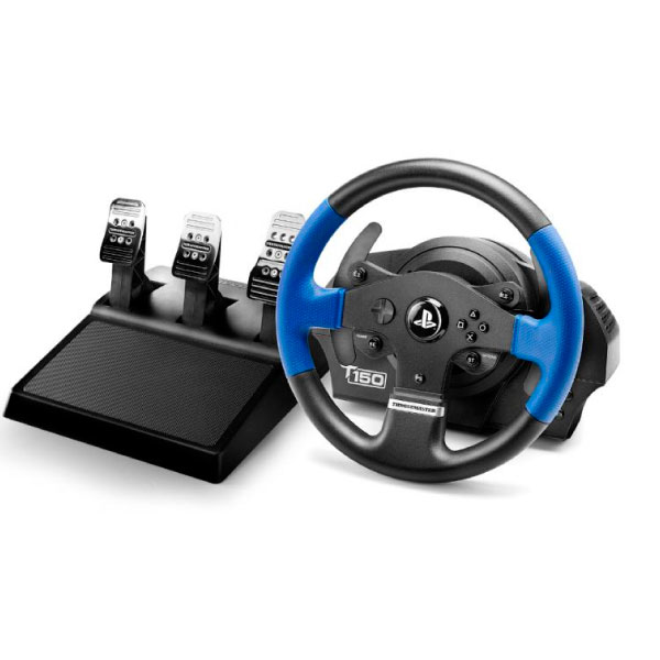 Volante T150 Force Feedback + Pedales – Thrustmaster